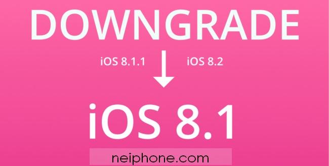 iOS 8.1 iOS 8.1 как откатиться