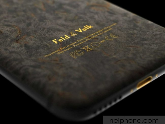 if-thats-too-much-gold-plating-for-you-feld-and-volk-also-makes-this-graphite-iphone-6-for-4799-it-has-a-birch-wood-exterior-and-some-gold