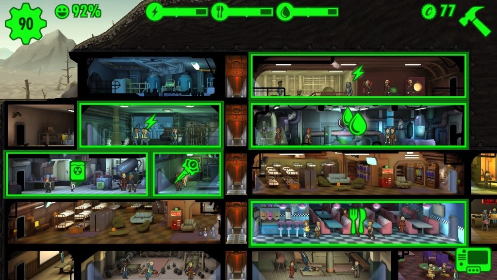 fallout-shelter-resource-collecting