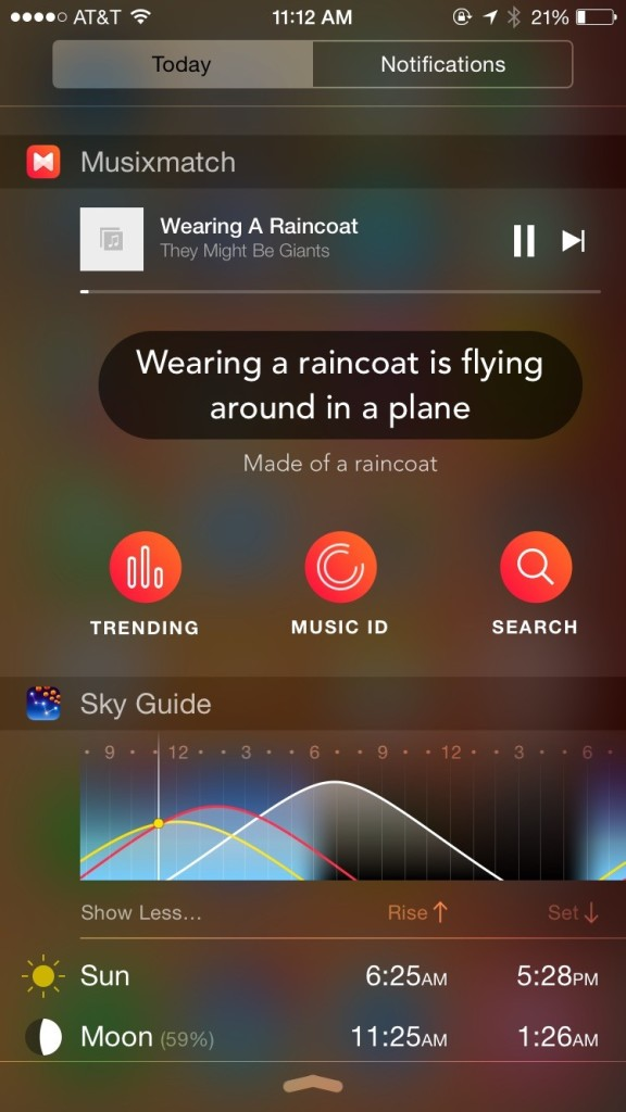 musixmatch-widget-iphone-screen