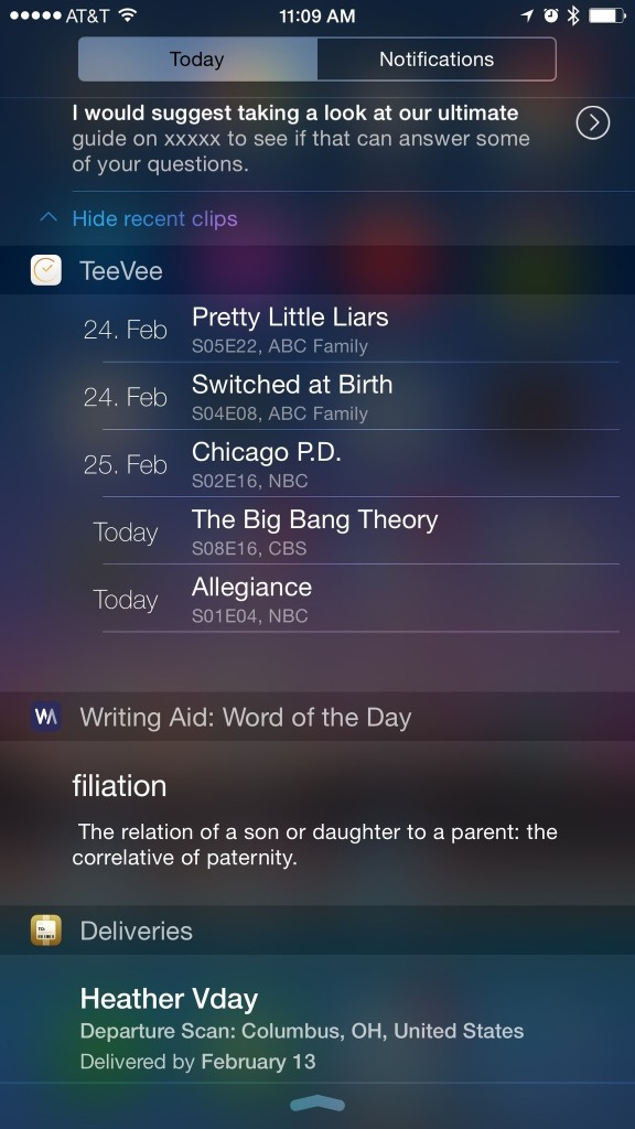 teevee-writing-aid-widgets-iphone-single-screen