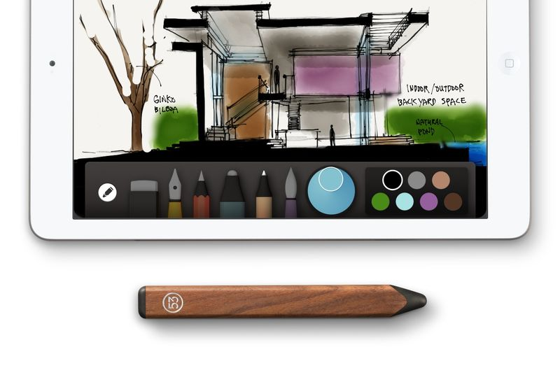 FiftyThree_Pencil_Walnut_with_Paper.0