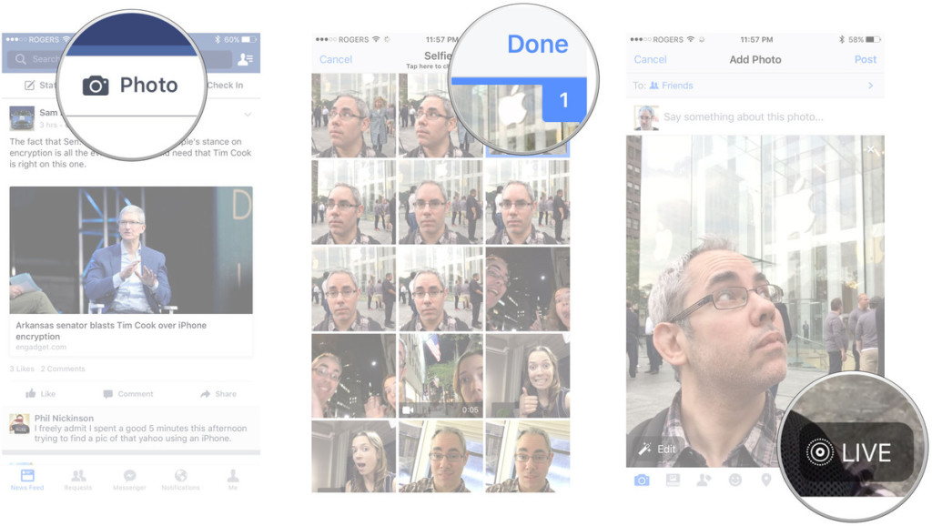 live-photos-face-book-screens