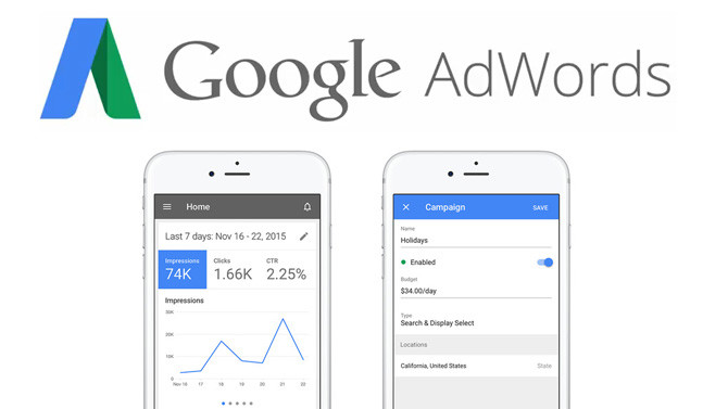Google AdWords for iPhone