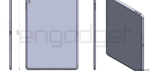 drawing of iPad Air 3