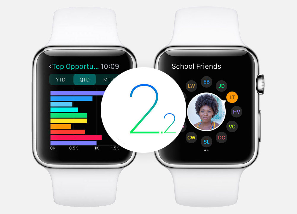 watchOS 2.2 beta 4